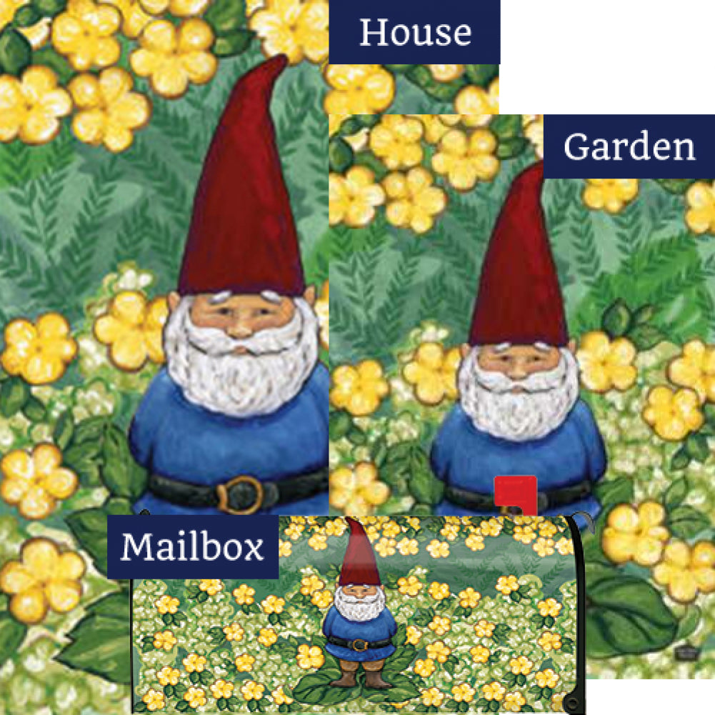 Garden Gnome Yard Makeover Set (3 Pieces)