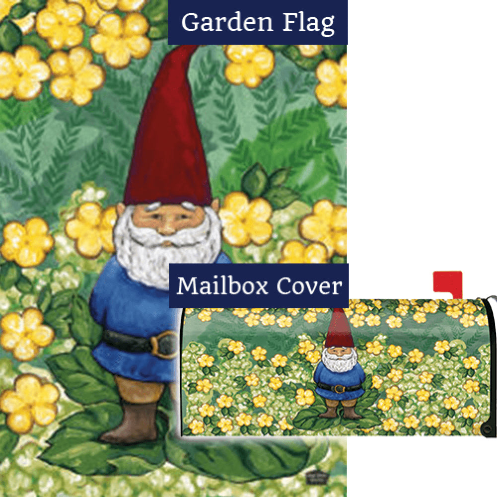 Garden Gnome Flag Mailwrap Set (2 Pieces)