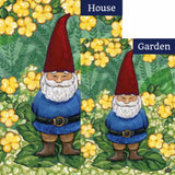 Garden Gnome Flags Set (2 Pieces)