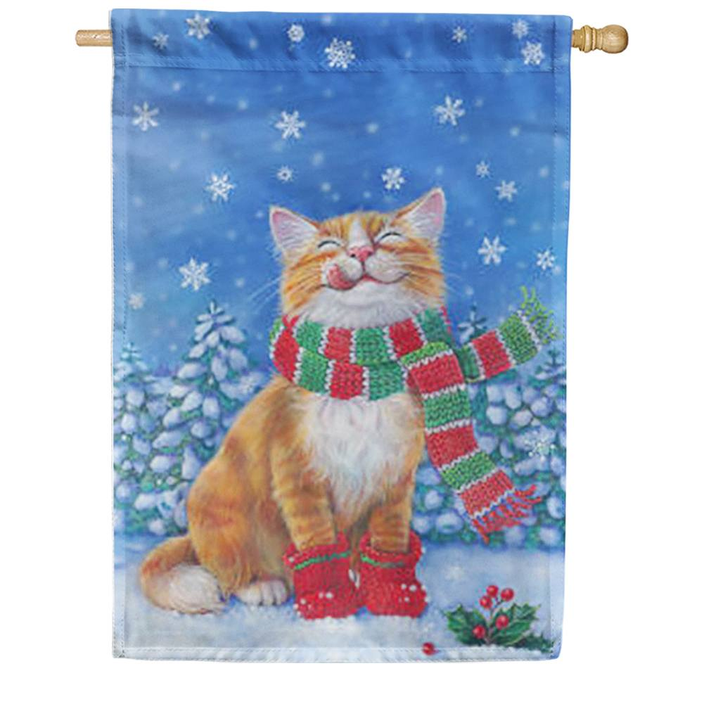 Kitten Mittens House Flag