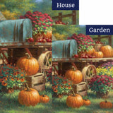 Farm Pumpkin Flags Set (2 Pieces)