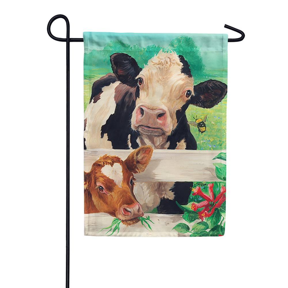 Farm Buddies Garden Flag