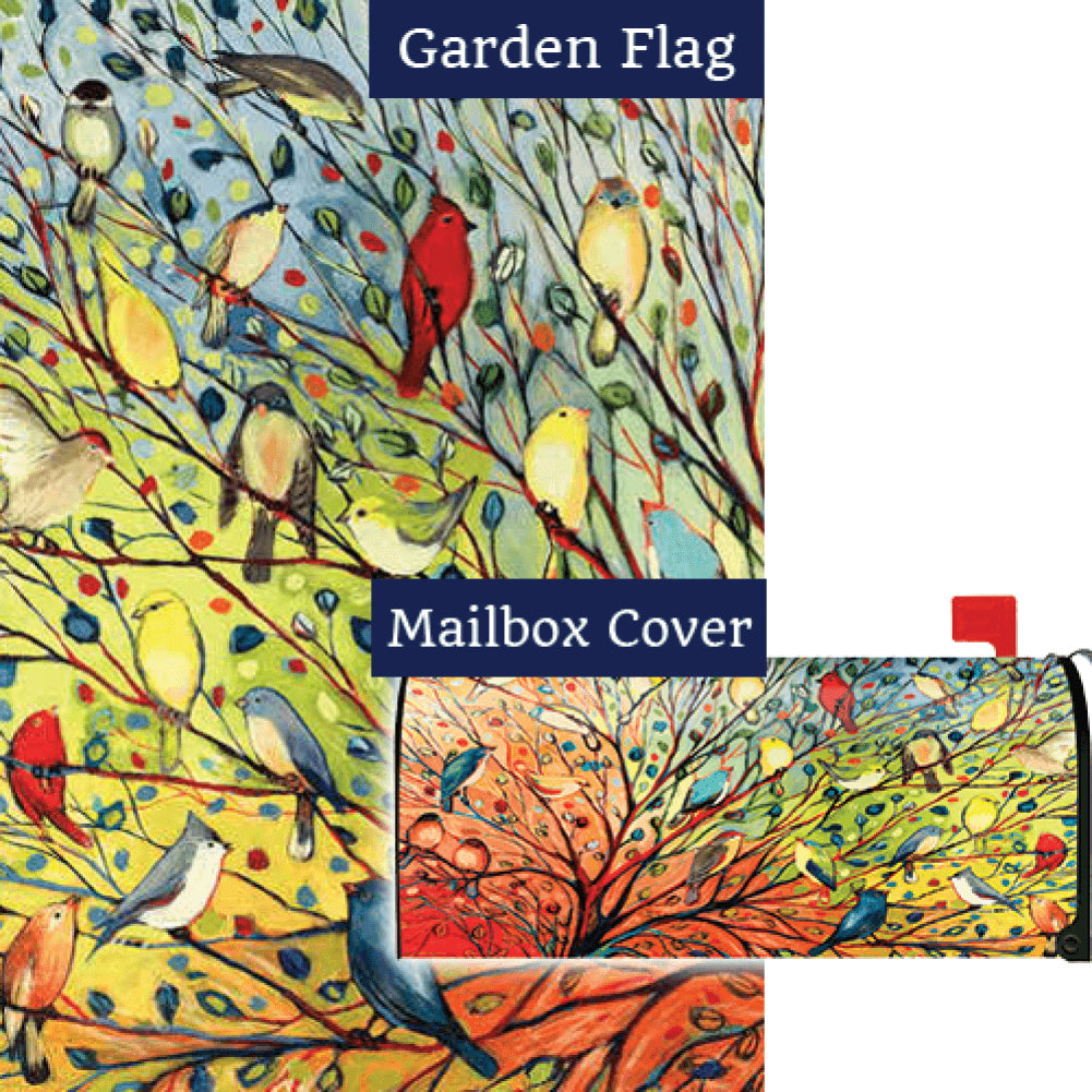 Tree Birds Flag Mailwrap Set (2 Pieces)