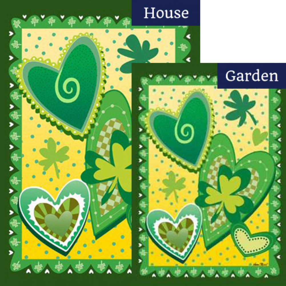 Heart O' the Irish Flags Set (2 Pieces)