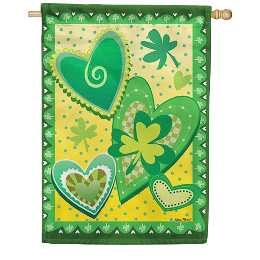 Heart O' the Irish House Flag
