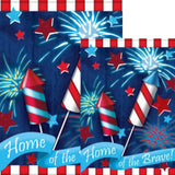 Home of the Brave Flags Set (2 Pieces)