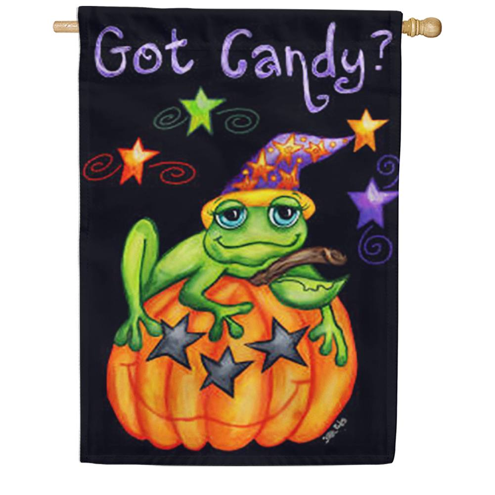 Toad Candy Halloween House Flag