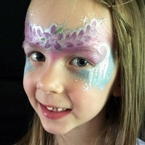 Elsa and Anna Frozen-inspired mask