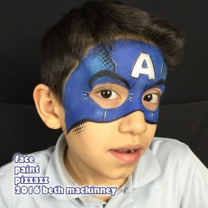 Tutorial for a Captain America inspired mask