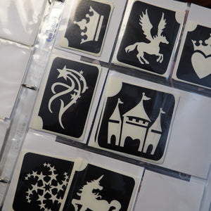 Video: How to Organize Your Glitter Tattoo Stencils