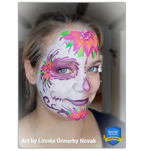 On The Job Halloween Sugarskull Video by Linnéa