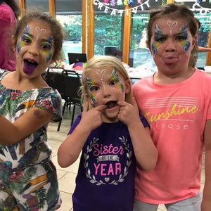 Art Of War For Face Painters: Keep An Eye On My Child