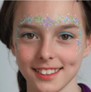 Easy Fairy Face Paint Design Tutorial Video by Kiki