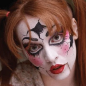 Broken Doll Face Paint Video Tutorial by Athena Zhe