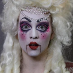 Video: Doll Face Paint Video Tutorial by Athena Zhe