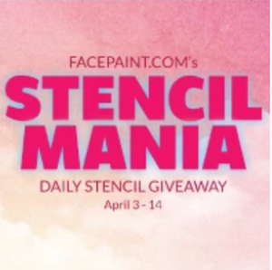 STENCIL MANIA - Daily Stencil Giveaway! 12 Winners - One Daily!