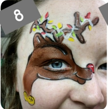Cute Reindeer Eye Tutorial!