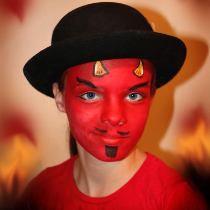 Top 5 Devil Face Paint Designs: How to Paint a Devil Face
