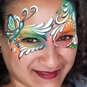 Dragonfly Mask by Kellie Burrus