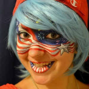 Patriotic Mask Design