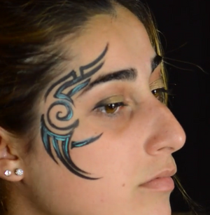 2 Minute Tribal Design Video by Andrea Colletti