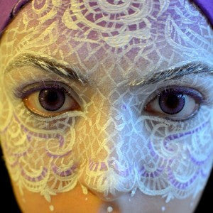 Lace veil tutorial