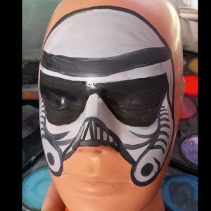 Storm Trooper Mask – A Simpler Design for the Wigglers and Wee-Littles