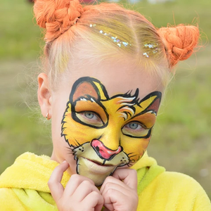 Top 3 Lion Face Paint Designs: How to Paint a Lion Face Tutorials & Video