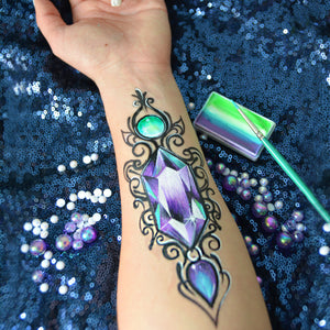 Jewel Ornament Body Art by Natalia Kirillova