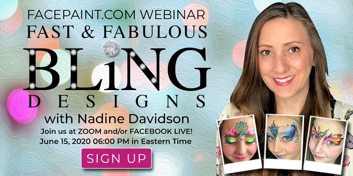 Webinar: Fast & Fabulous Bling Designs with Nadine Davidson