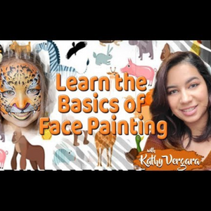 Webinar: How to Face Paint Animal Masks With Kathy Vergara