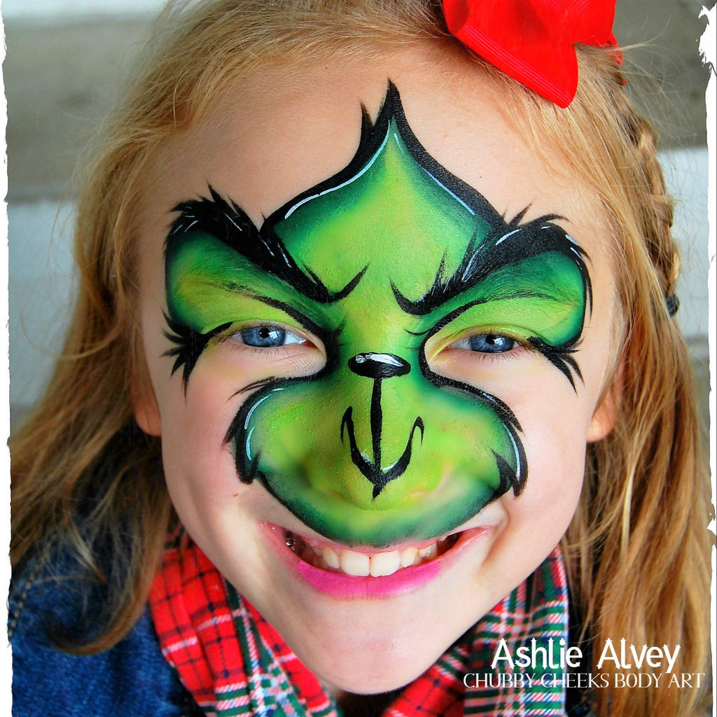 Baby Grinch Step by Step Tutorial by Ashlie Alvey