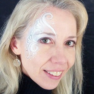 Face painting personal trainer: the creative process and your inner editor