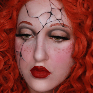 How to Paint a Broken Doll Face Video by Ana Cedoviste