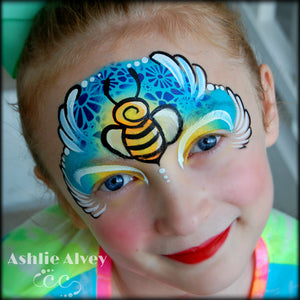 Bumble Bee Design Tutorial by Artist Ashlie Alvey