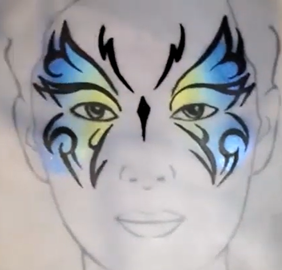 Webinar: Amazing Butterflies Face Paint Designs With Kathy Vergara