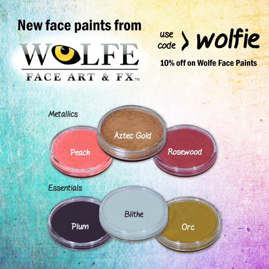 New Wolfe Face Paints Have Arrived!