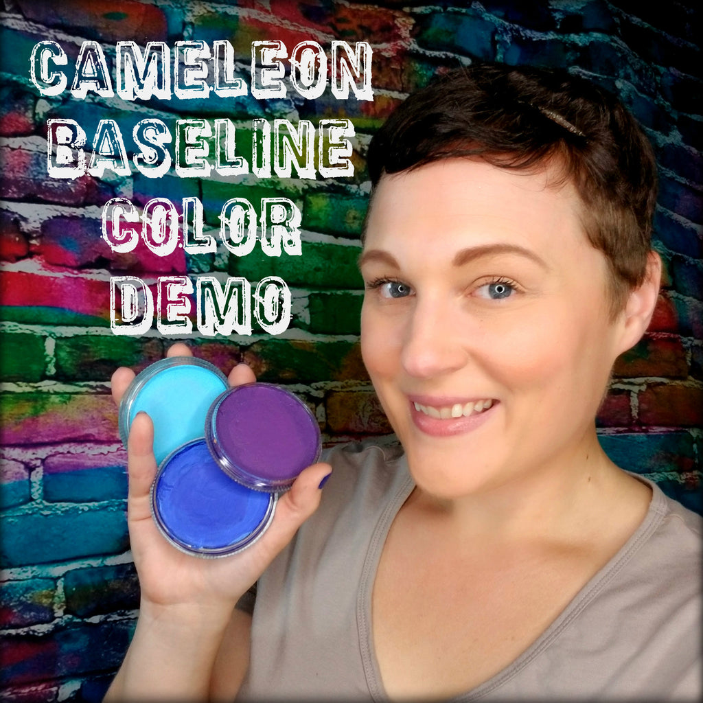 Cameleon Baseline Colors Video Demo by Artist Ashlie Alvey