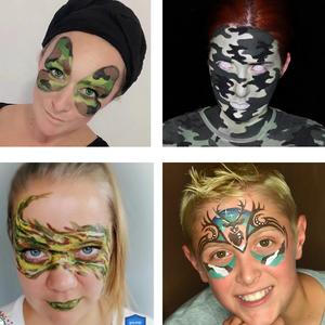 How to Camouflage Face Paint: 4 Camouflage Face Paint Videos and Tutorials