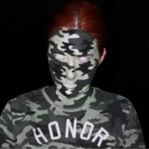 Camouflage Face Paint Video by Ana Cedoviste