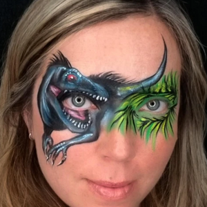 7 Quick & Easy Dinosaur Face Paint Design & Video Tutorials
