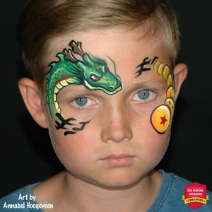 Top 6 Dragon Face Paint Designs & Video Tutorials