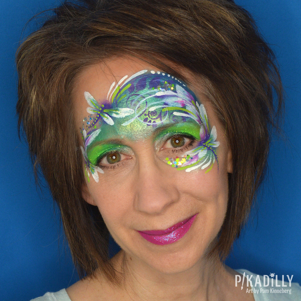 Whimsical Dragonfly Mask by Pam Kinneberg