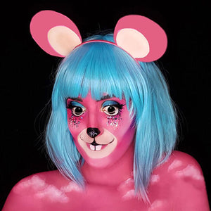 Dream Mouse Face Paint Video by Ana Cedoviste