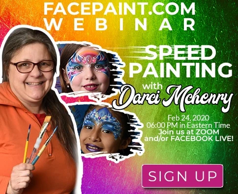 Webinar: Special Needs Face Painting With Darci Mchenry