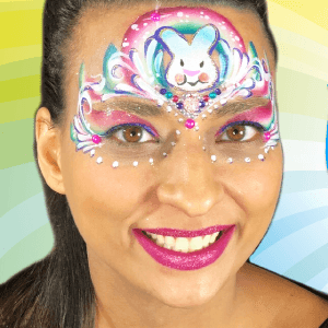Bling Bunny Princess Design Video by Melissa Munn