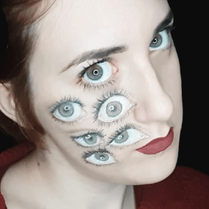 Eyes Illusion Design Video by Ana Cedoviste