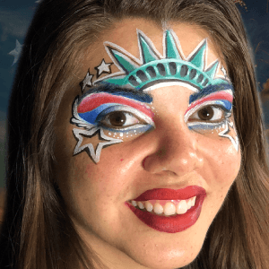 Lady Liberty Patriotic Design Video by Athena Zhe