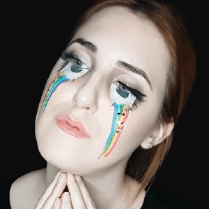 Rainbow Tears Design Video by Ana Cedoviste