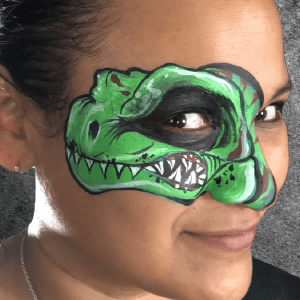 Tyrannosaurus Rex Eye Design Video by Kellie Burrus
